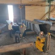 تجهیزات کارخانه فولاد نورین ابهر