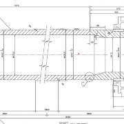 طراحی جزئی ، تامین و ساخت مجموعه قطعات کلوخه شکن بالای کوره